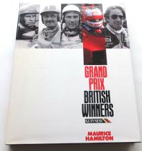 GRAND PRIX BRITISH WINNERS (Hamilton 1991)